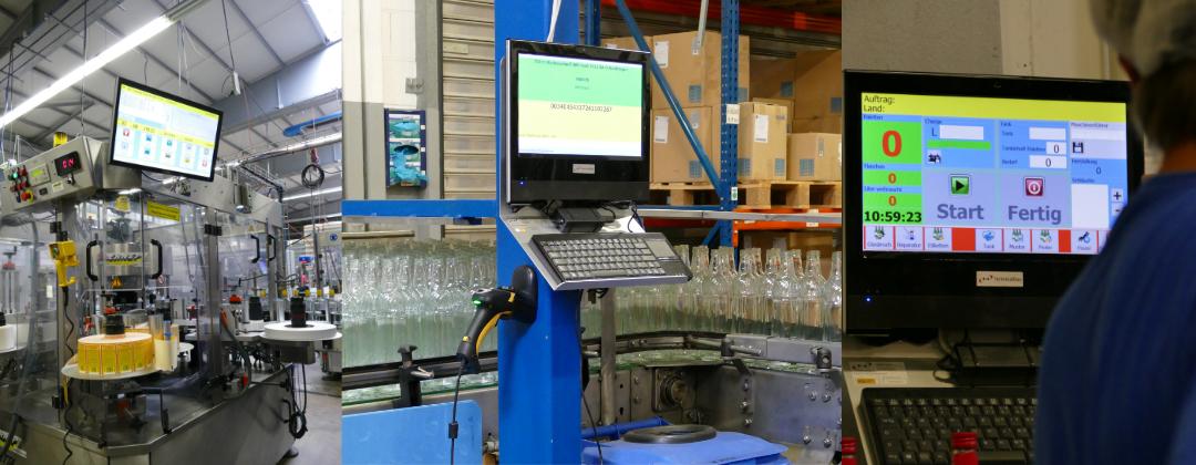Individuelle Programmierung - Automatisierung von Produktionsanlage