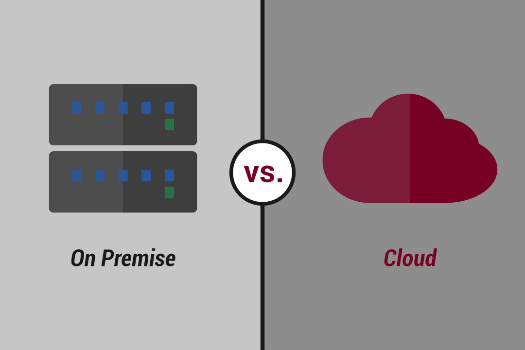 Produkte On Premise vs. Cloud