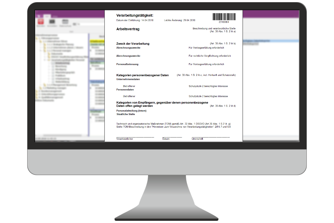 Datenschutz Reports